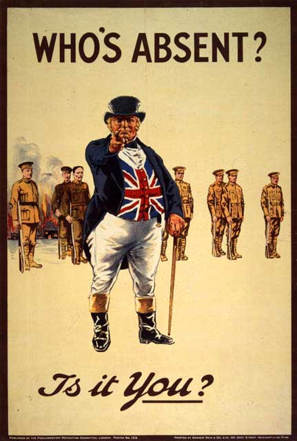 20.1 World_War_I_recruiting_poster